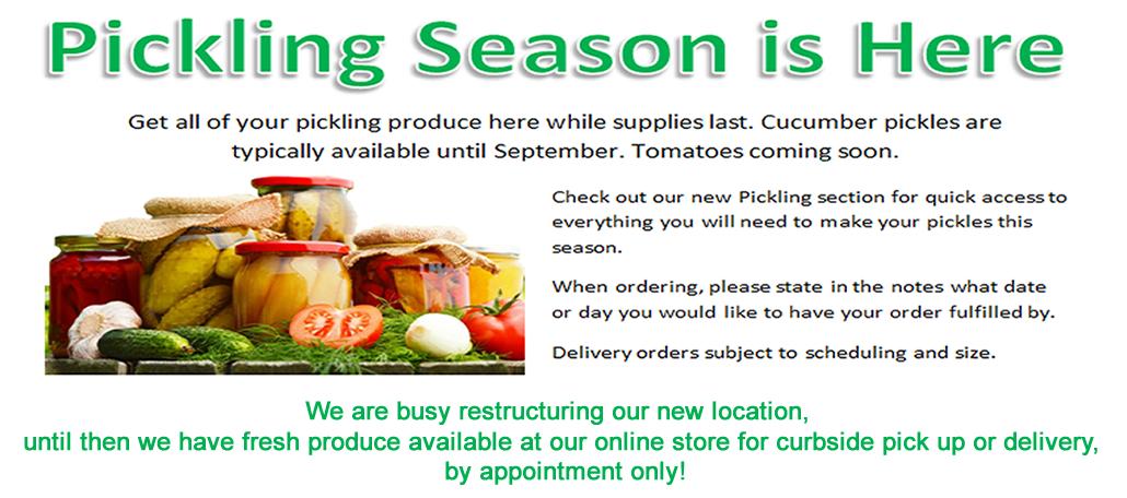 pickling season banner